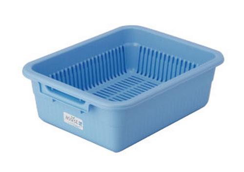 水切りカゴ 475×375×155HMM ブルー 水切りNo.1