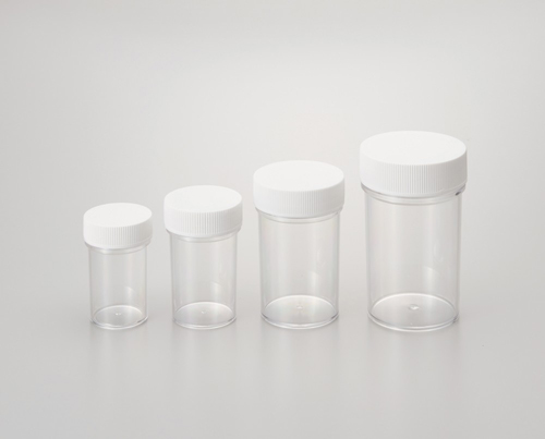 101-59401 スチロール棒瓶 透明 140ML SN-140 シントー化学