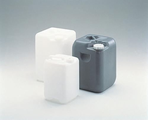 101-62603 正角缶(PE製) 20Lグレー 三喜化成