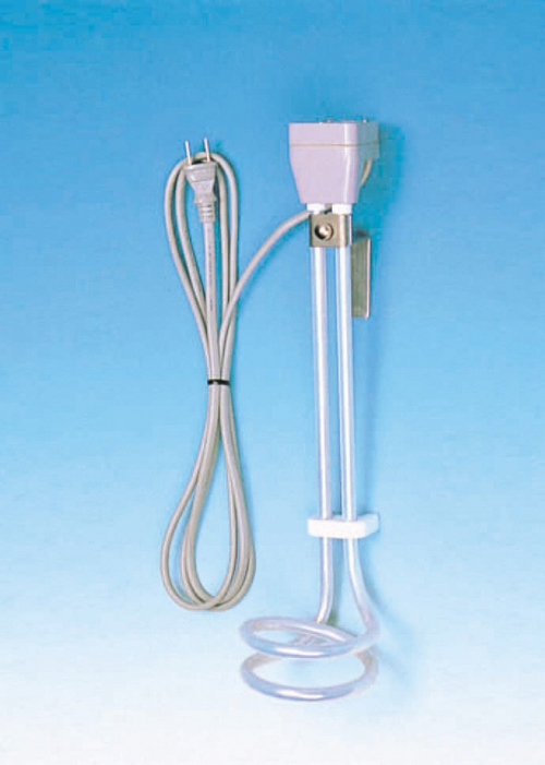 PTFE被覆ヒーター KSL型 電圧110V×容量1000W×寸法340LMM KSL-1B