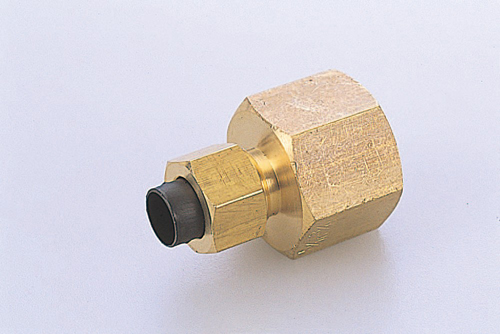 103-40208 クイックシールシリーズ継手 インチサイズ ファイメイルコネクタ 適用チューブ外径3/8 PT3/8 FC1N3/8-PT3/8 ニッタ(NITTA)