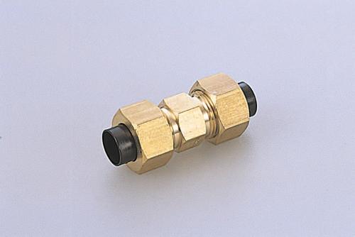 103-40501 クイックシールシリーズ継手 インチサイズ ユニオンコネクター 適用チューブ外径1/8 UC1N1/8 ニッタ(NITTA)