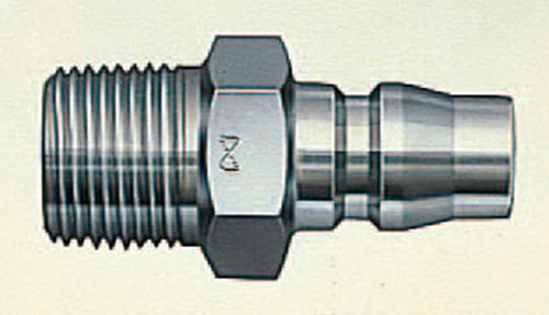 103-50706 ハイカプラ(汎用型空気配管用) プラグ 鋼鉄 600PM 日東工器