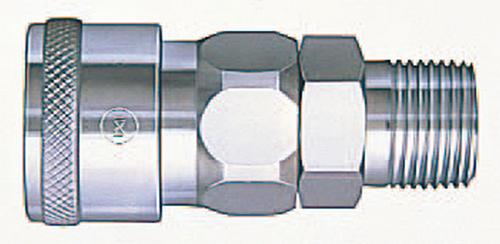 103-51004 ハイカプラ(汎用型空気配管用) ソケット 鋼鉄 400SM 日東工器