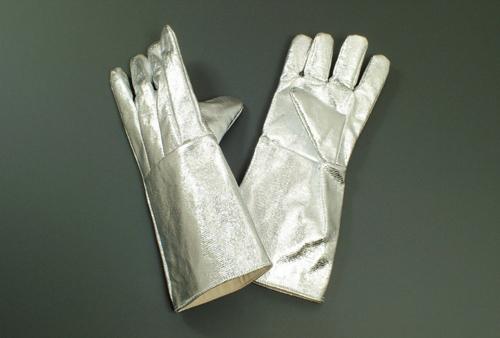 アルミ耐熱手袋 5本指