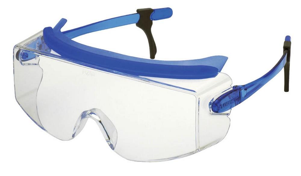保護めがね1眼型 〈度付きめがね併用 (大型)オーバーグラス〉 SN-737