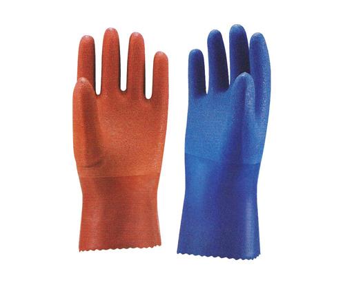 104-20111 はげみ手袋(中・重作業用手袋) L ブラウン 三興化学工業