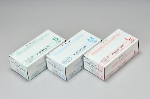 104-90101 エクセレントラテックス手袋 パウダーフリー〈ロングタイプ〉 S NR-310(100枚) 三興化学工業