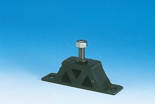 105-00803 山型防振ゴム 60MM×20MM×22HMM ED1003 ブリヂストン