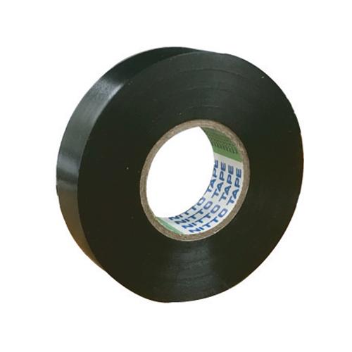 108-1180107 ビニールテープ 0.2MM×19MM×20M 黒 日東電工(Nitto)