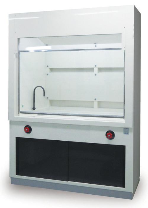 110-25204 標準型ドラフトチャンバー(塩化ビニール製) 1800X750×2100HMM FDV-18-V 貴商エンジニアリング
